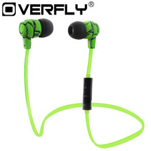 Overfly Wireless Bluetooth Headphones Sport Mini Stereo V4.0 Crack Earphone Earbuds Hand Free Headset for Samsung iPhone7 Sony(China)