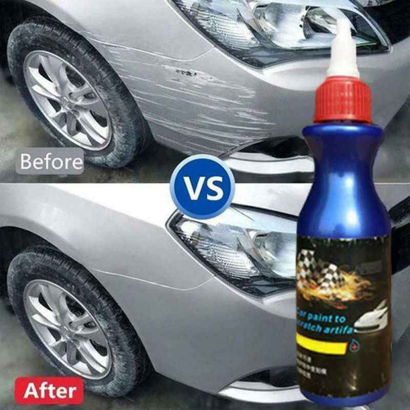 Hot Car Cleaning Artifact Scratch Touch Up Pen Repair Liquid Remove Stain Scratch Repair Agent No Trace Car Polish Cleaning Tool
