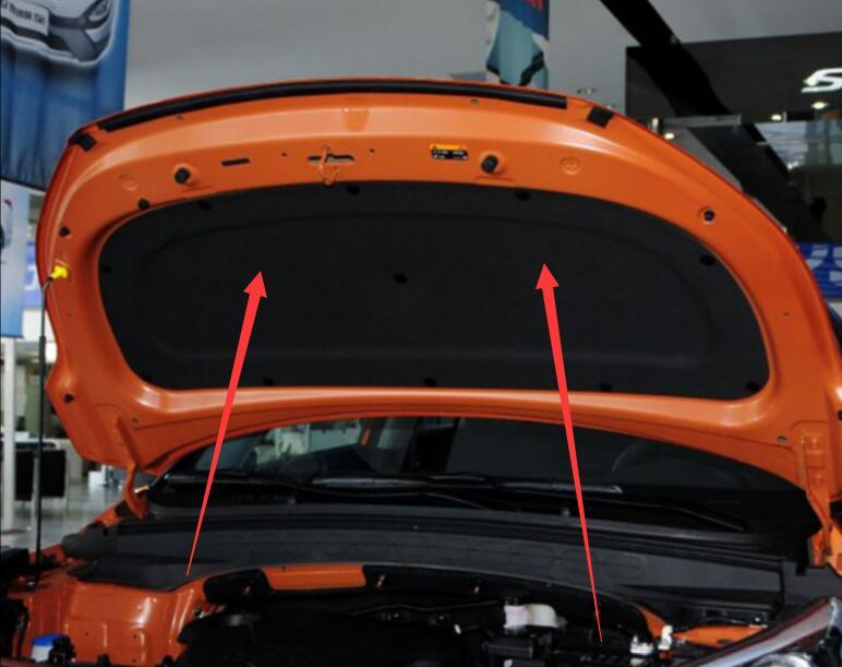 sale sound insulation cotton heat insulation pad modified For Hyundai Creta Ix25 ix35 Verna  Elantra  Sonata 8 heat pad page 8
