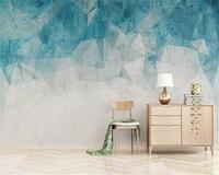Beibehang Custom 3d Wallpaper Mural Nordic Minimalism Abstract Lines Geometric TV Background Wall 3d Wallpaper Carta