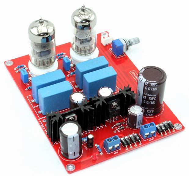 6N3 Tube Amplifier Preamp (  Reference Mattis Circuit)