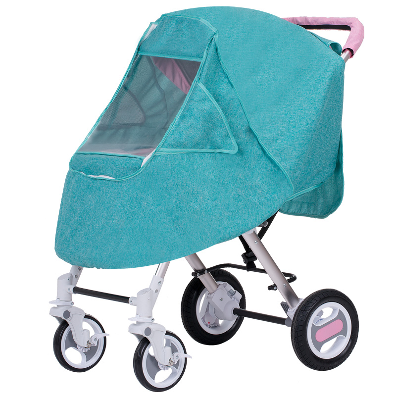 цена на Universal Baby Cart Rain Cover Dust Prevention Sunshade Windproof Cover Multifunctional baby car rain cover