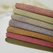 DIY Япония маленькая ткань группа Пряжа-окрашенная ткань, для шитья Лоскутное шитье ручной работы, сетка полоса точка D20