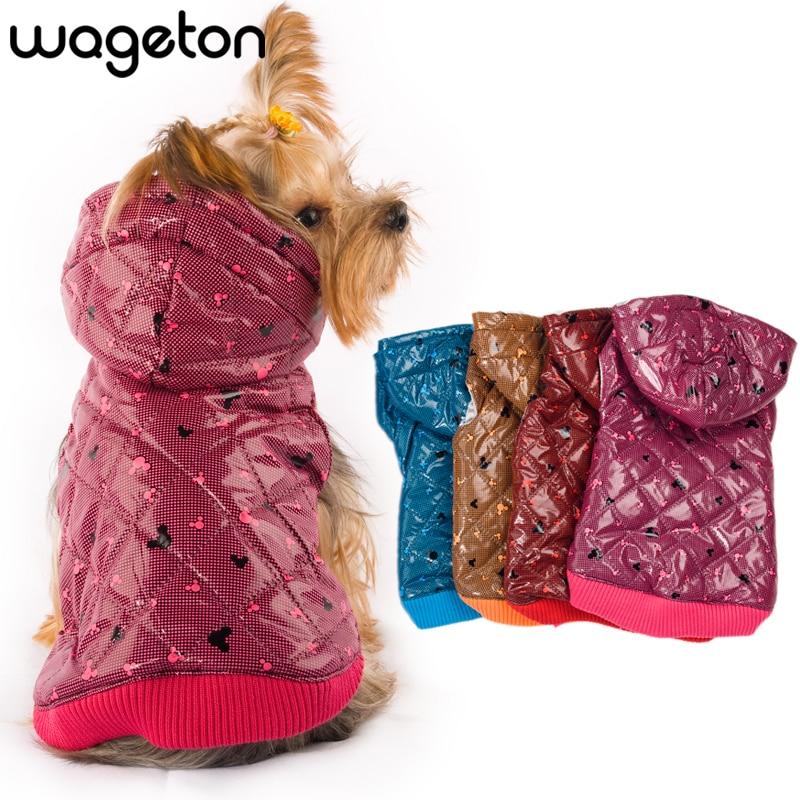 Livraison Gratuite! Vêtements de chien de mode WAGETON vente Chaude! En gros et Au Détail de concepteur vêtements pour animaux domestiques-5 couleurs