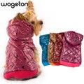 Бесплатная доставка! WAGETON модная одежда для собак Горячая распродажа! Оптовая и розничная продажа дизайнерской одежды для домашних животных-5 цветов - фото