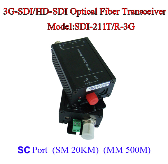 3G-SDI To 1080I/HDMI Optical Transceiver Data Rate 2.97Gpbs - Fiber To SDI Media Converter -Video/Audio/RS485 Data Over Fiber