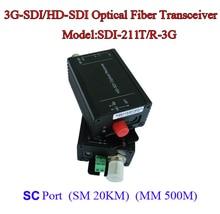 3G-SDI to 1080I/HDMI Optical Transceiver Data rate 2.97Gpbs – Fiber to SDI Media converter -Video/Audio/RS485 data over fiber