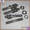 4pcs*bolt+4pcs*elastic gasket+4pcs*flat gasket+4pcs*nut for SUZUKI GN250 exhaust pipe mouth screw 304 stainless steel stud kit