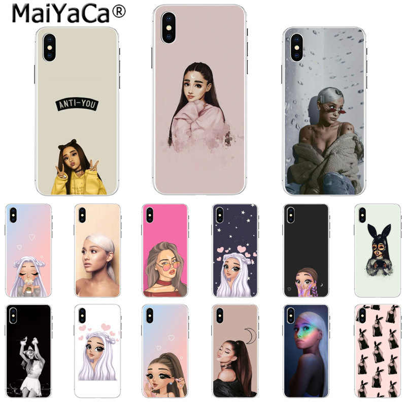 MaiYaCa No Tears ซ้าย To Cry ariana grande Novelty Fundas สำหรับ iphone 11 pro 8 7 66S plus 5S SE XR X XS MAX