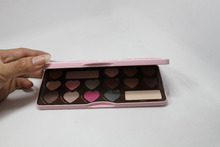 Bon Bons  16 colors Eyeshadow Palette Cosmetic Makeup Eye Shadow for women  smell as Chocolate eyeshadow palettefree shipping
