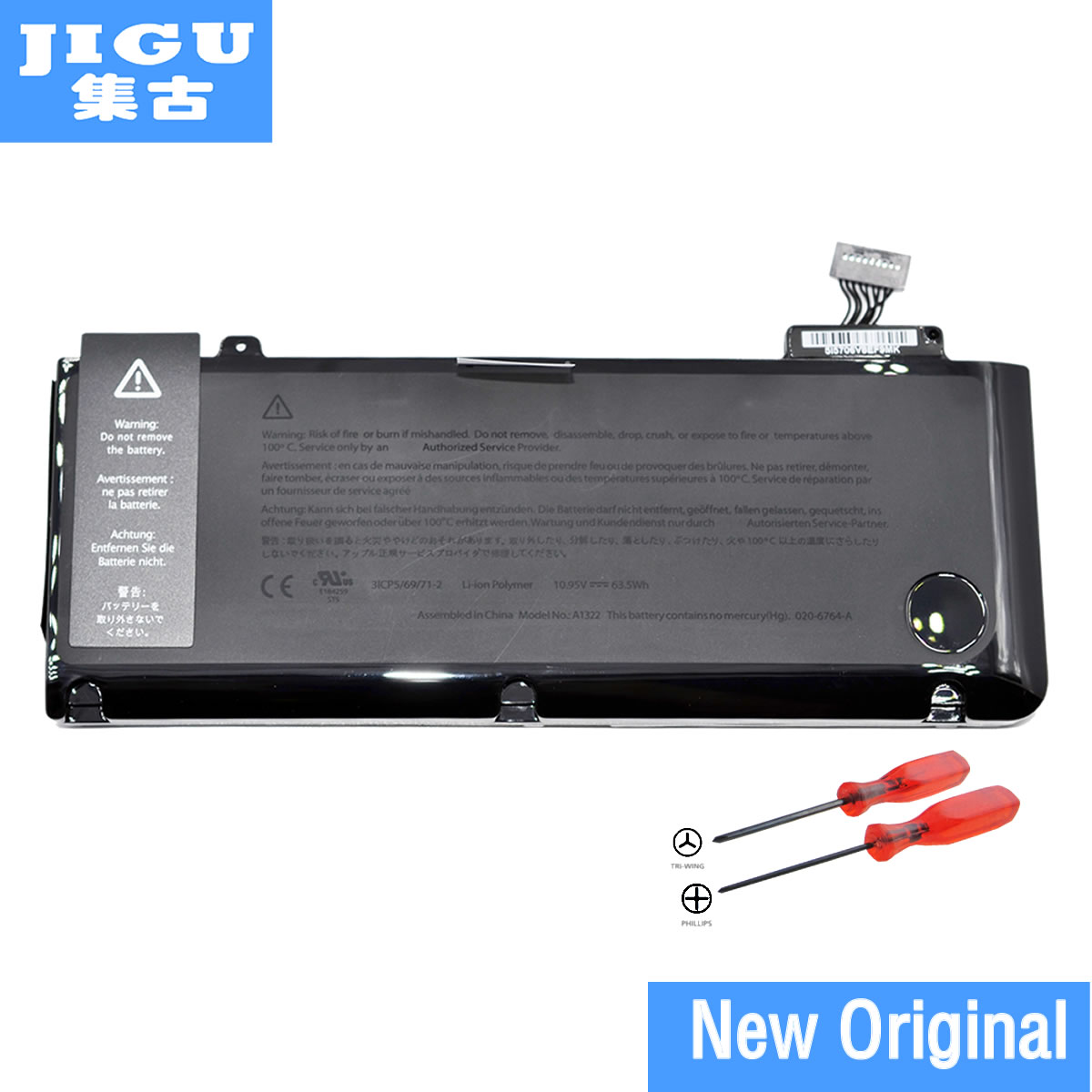 JIGU A1322 Original Laptop Battery For APPLE MacBook Pro 13 A1278 mb990 mb991 mc700 mc374 md212 md313 md101 MD314 MC724 MC375 детский набор для моделирования low temperature stirling engine model stirling ls001