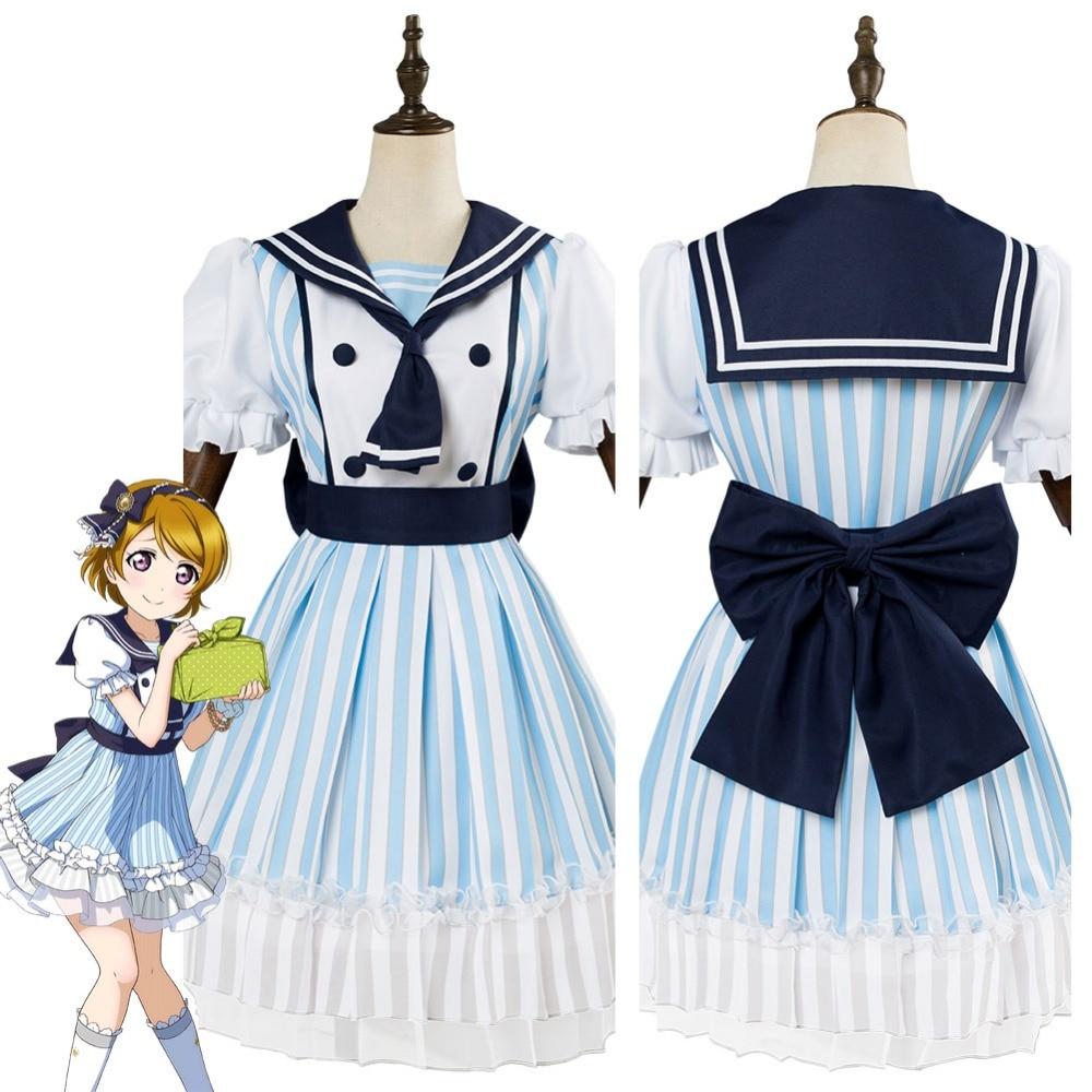 LoveLive Cosplay Koizumi Han Cosplay Costume Dress Uniform Sea Pirates Sailor Suit Girls Dress School Uniform Halloween Costumes