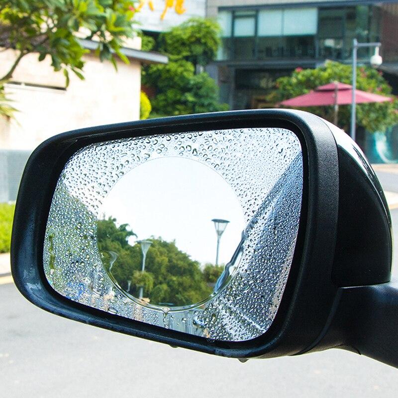 Купить 2 шт автомобиля зеркало окно совсем прозрачную пленку затемняемые