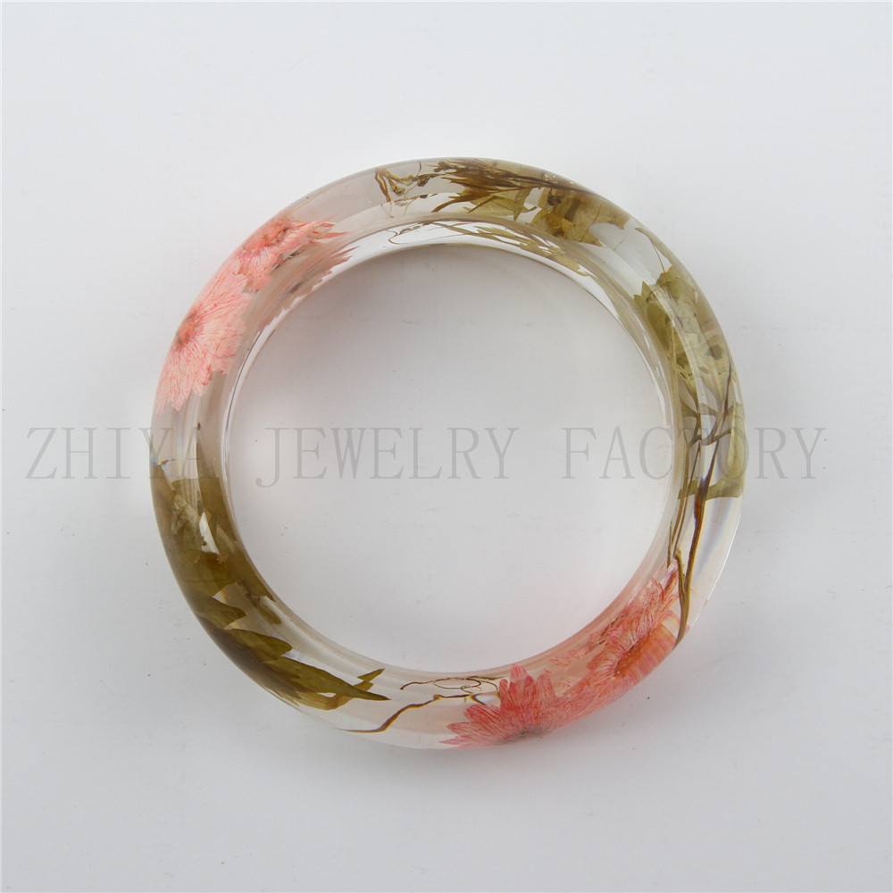 category product fancy resin fibre wooden bangles