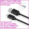BrankBass USB 3.1 Tipo C C cable de Datos USB de Sincronización y Carga Cable USB para nexus 5x/nexus 6 p para oneplus 3 zuk z1 para xiaomi mi4c