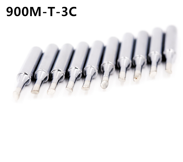 SZBFT 10X Lead-free Replaceable 900M-T-3C Soldering Iron Tips For Soldering Station free shipping imc hot 5 x replaceable iron tool solder tips for soldering station 30w
