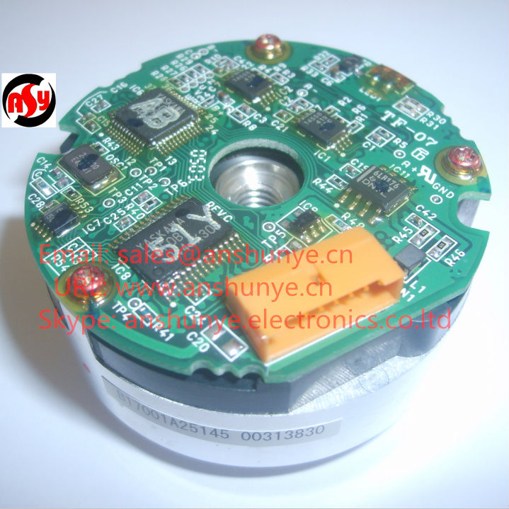 Rotary Encoder INC. ENCODER UTSIH-B17CK Working for YASKAWA SERVO MOTOR SGMGH-44DCA6F-OY dhl ems yaskawa trd y2048 servo motor encoder good in condition for industry use a1