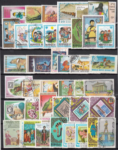 Image 3 - 1900 PCS All Different No Repeat With Post Mark Off Paper Postage Stamps In Good Condition For Collection
