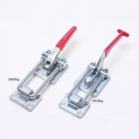 Heavy Duty Adjustable Toggle Clamp Fastener Toggle Hasp Latch Trailer Quick Release Pull Latch