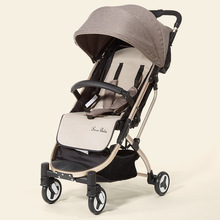 Lightweight and Easy To Fold High Landscape Stroller Can Sit Reclining Baby Travel Umbrella Lightf Our Wheel Stroller