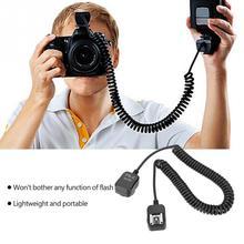 0,8 м 50-80 см ttl Выкл-камера вспышка Расширение синхронизации Шнур камера вспышка кабель для Canon для Nikon горячий башмак аксессуары для фонарика