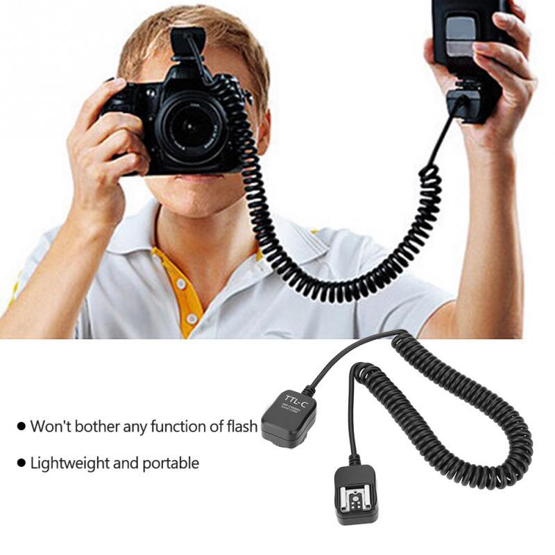 Replaces Canon OC-E3 2 m 6.5 PHOLSY E-TTL-Off-Camera Flash Sync Cord for Canon EOS