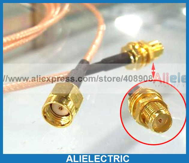 20pc SMA Female Jack to RP SMA Male Plug WiFi RF Pigtail Jumper RG316 Cable 20cm f type female jack to sma male plug straight rf coax adapter f connector to sma convertor