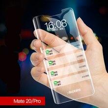 for LG V30 V40 G7 Tempered Glass film UV Ligh Glue Nano Liquid Full Screen Protector For Huawei P30 pro Mate 20 Pro P20lite