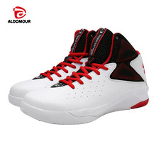 ALDOMOUR Cheap Basketball Shoes Men Bounse Technology Tuff Lace-Up Damping Sneakers Sport Shoes Chaussures De Basketball Shoes