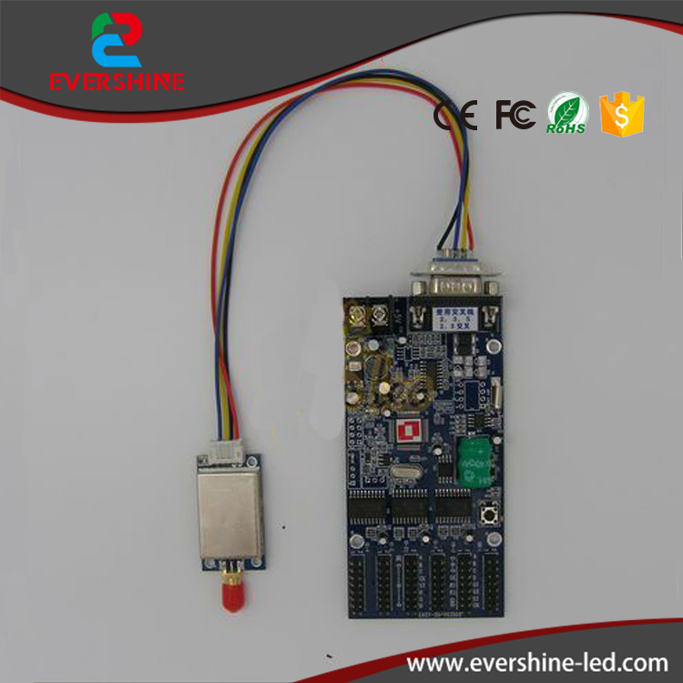 ФОТО Usb RF Remote Control  Card Manual for Single and Two Color LED Display Screen