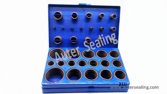 8A 407 PCS 32 SIZES FKM75 (Viton75) Rubber O ring Kit, Oring Box ...