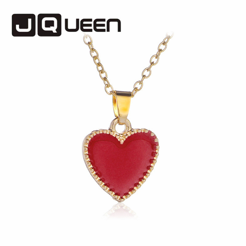 Red Heart Pendent Necklace