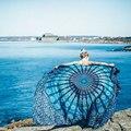 Toalla de Playa Toalla de Baño Toalla de Playa 2016 de Bohemia de la Impresión redonda servilleta De Plage Playa Playa Toalla Toallas de Baño de Las Mujeres Chales envuelve