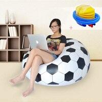 Waterproof Inflatable Sofa Adult Football Self Bean Bag Chair Portable Outdoor Garden Corner Sofa Set Living