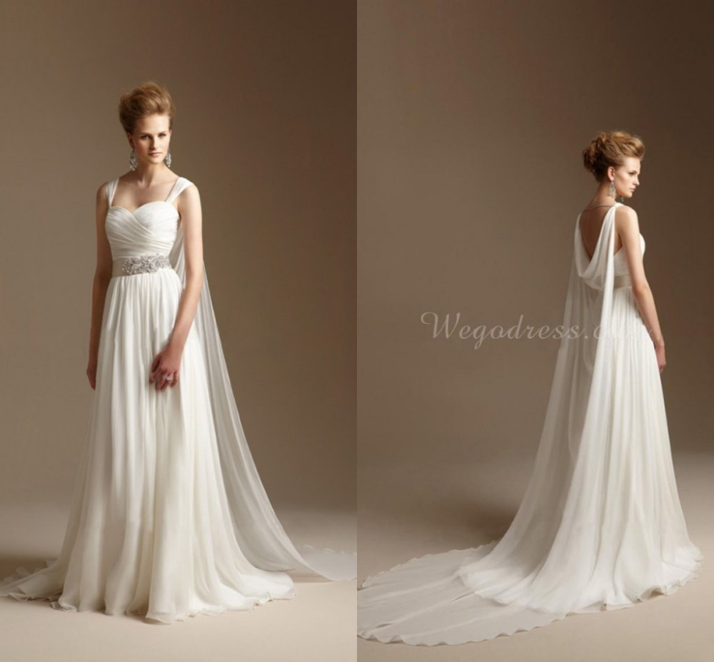 Popular greek wedding dress buy cheap greek wedding dress for Greece style wedding dresses