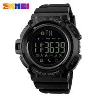 SKMEI New Fashion Watches Men Bluetooth Smart Sports Pedometer Calories Chronograph Fashion Waterproof Digital Wristwatches