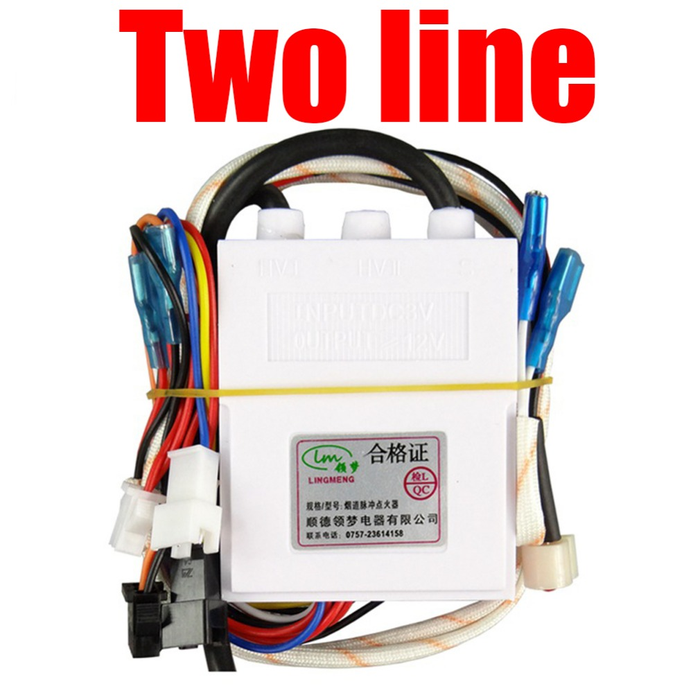 2-line Temperature Control of Domestic Gas Water Heater Fittings with two-wire Pulse Point Igniter Gas Water Heater Parts запчасть cst cst камера