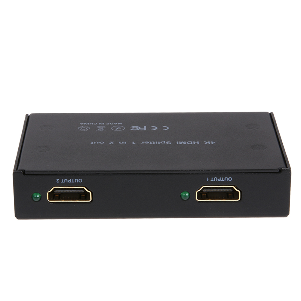 1080P Mini HDMI 1 Channel Video Signal Source Onto 2 Displays USB Splitter Support 1.4V 4K x2K and 3D For HDTV PS3 XBOX b101xt01 1 m101nwn8 lcd displays