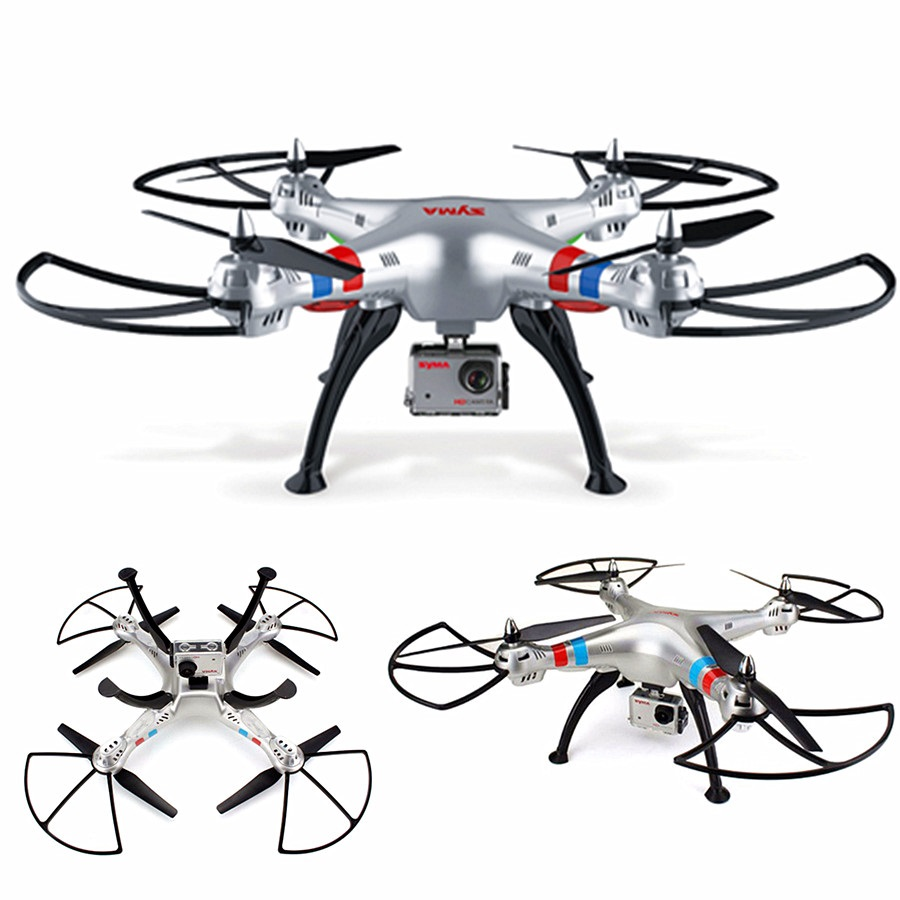 Professional rc drone X8G 2.4G 6 Axis Gyro 4CH rc Quadcopter with HD camera headless mode drone toy best gift vs MJX X101 drone image