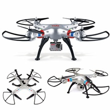Professional rc drone X8G 2.4G 6 Axis Gyro 4CH rc Quadcopter with HD camera headless mode drone toy best gift vs MJX X101 drone