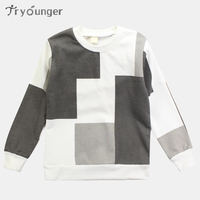 Tryounger Boys T Shirt 2018 Spring Children Sweatshirt Boys Hoodies Teenage Kids Tshirt Tops Teen Boys