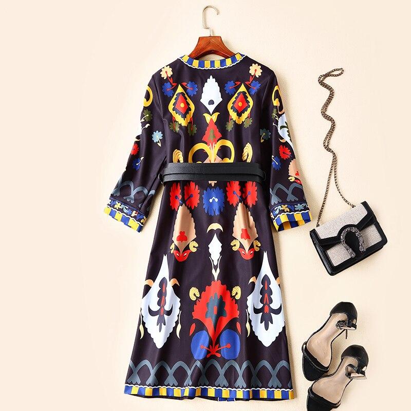 Marque Design Partie Printemps Mode 2019 Qualité Supérieure Robe De Ws02394 Luxe Européenne Style Nouvelle Femmes WQdBoeCrx