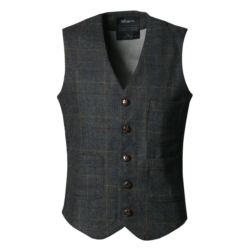 Daupanzees Men's V-Neck Sleeveless Slim Fit Vest Jacket Fashion Single-Breasted Business Suit Dress Vests by Daupanzees $ - $ $ 19 99 - $ 29 99 Prime.