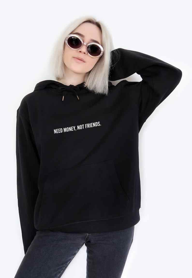eed19e1ab4546 Sugarbaby Destroy What Destroys You Hoodie Sweatshirt Black Tumblr ...