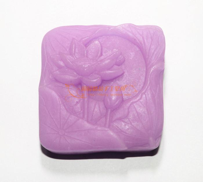 Lotus szilikon szappanforma Kézzel készített 3D szilikon - Művészet, kézművesség és varrás