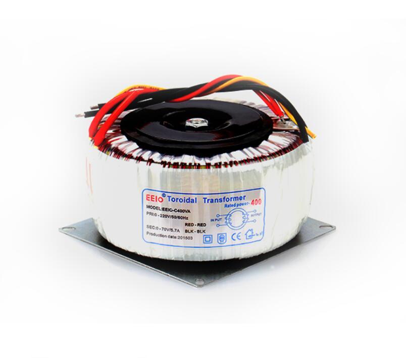 Здесь можно купить  70V tranformer 400VA  oroidal transformer copper custom transformer 220V input 70V 5.7A power transformer  Электротехническое оборудование и материалы
