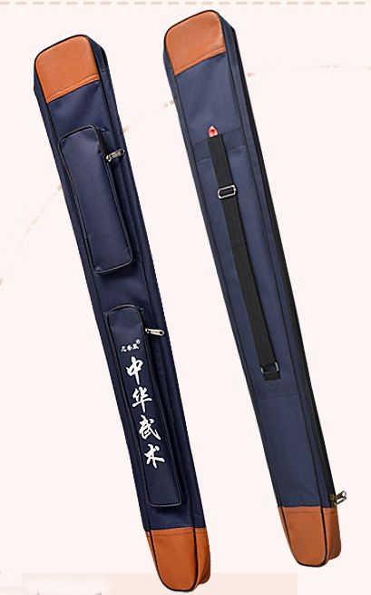 4 colori rosso/blu/nero/verde tai chisword/coltello bagskung fu/arti marziali taiji della tela di canapa pacchetto del sacchetto di alta qualità 108 centimetri