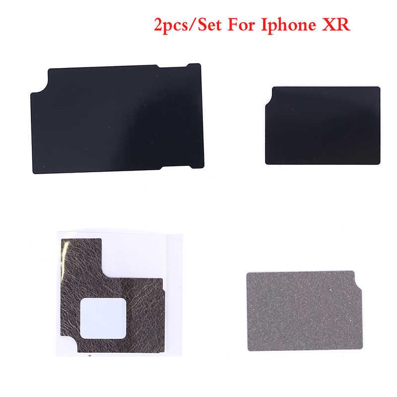 Placa-mãe anti-estática dissipador de calor adesivo para iphone x xs max xr 8 7 cola lógica placa de dissipação de calor de refrigeração para 6 6 s se 5S