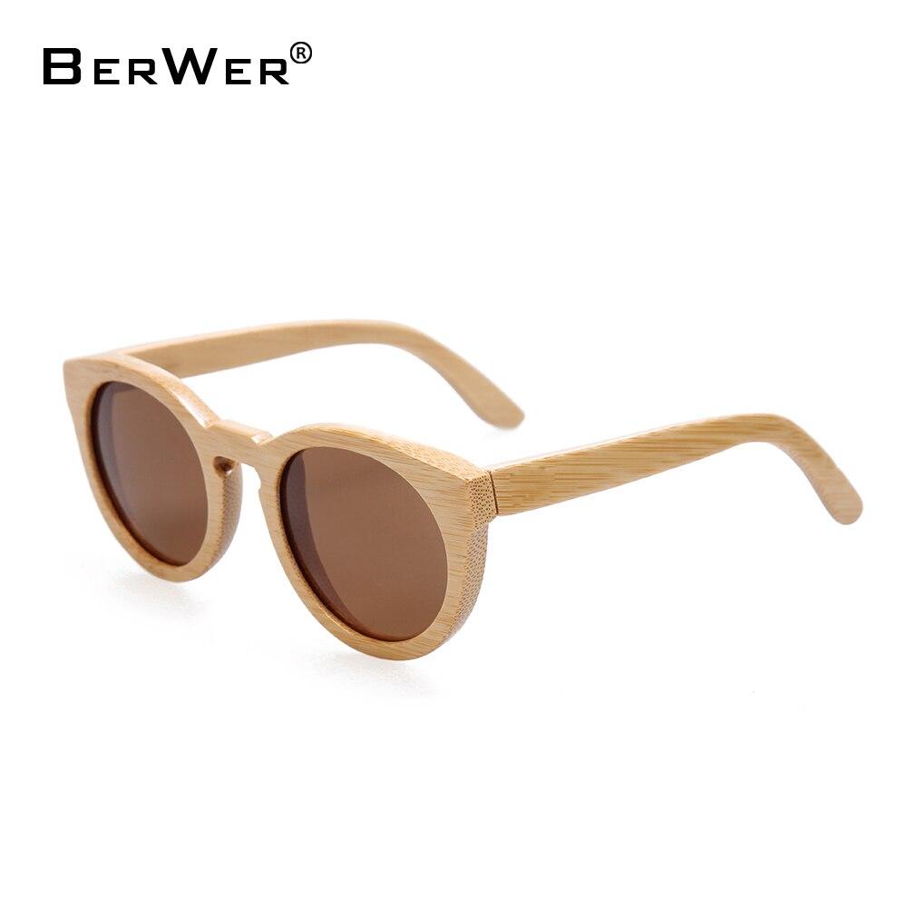 BerWer 2018 Bamboo lunettes de soleil et lunettes de Soleil en bois bois et  verres en bois avec des lentilles polarisées ced66c569f16