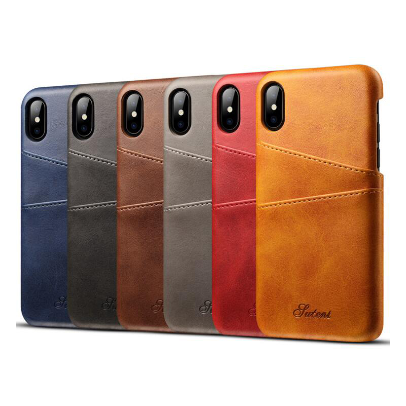 Buy 1 Get 5 Free Multifunction PU Leather Phone Case Credit Card Slot Phone Shell Bags For iPhone For Samsung For Huawei image